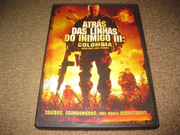 """DVD """"Atrás das Linhas do Inimigo III: Colombia"""""""