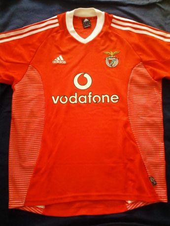 Camisola Sport Lisboa e Benfica 2002/03 Adidas