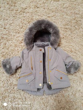 Курточка на 0-3 мес