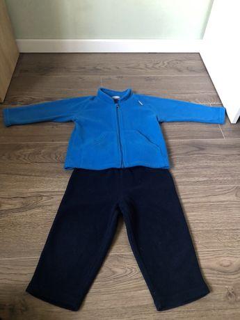 Reima флисовый костюм, поддева 86+6 см