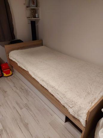 Łóżko 90 x 200 z szufladą