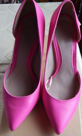 Buty w kolorze fuksji