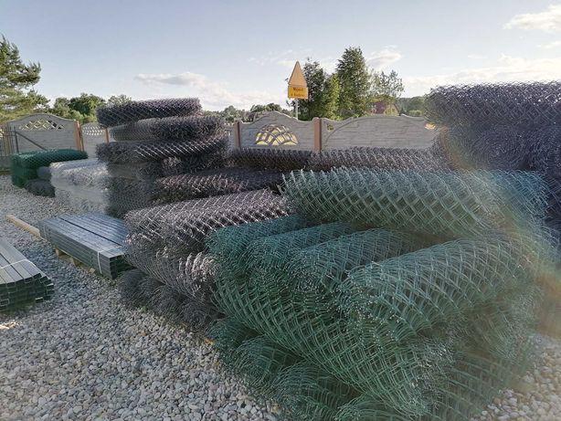Siatka ogrodzeniowa powlekana pcv 3,2 1,5m 150cm ogrodzenie słupki
