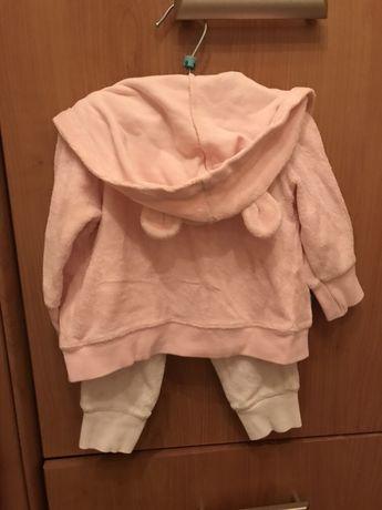 Велюровый костюм Carter's