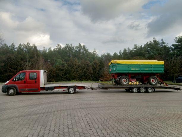 transport maszyn rolniczych gabarytów Żnin Wągrowiec Gniezno Barcin