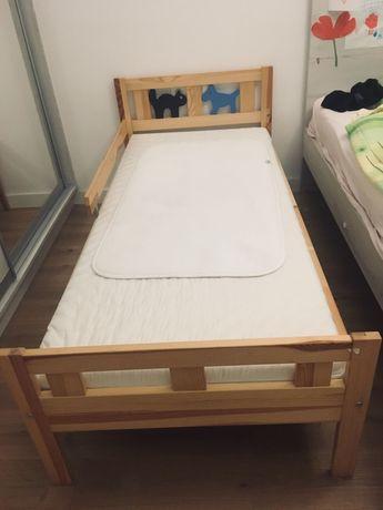 Łóżko dziecięce sosnowe