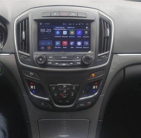 Auto Rádio Insignia Novo modelo Android GPS DVD Bluetooth Wifi USB