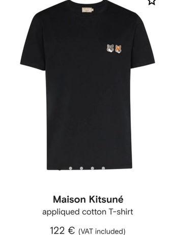 Último preço Maison Kitsuné Paris*Novo a estrear