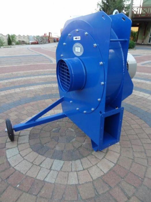 Wentylator BIN do przedmuchu silosa TURBINA 7,5 kW