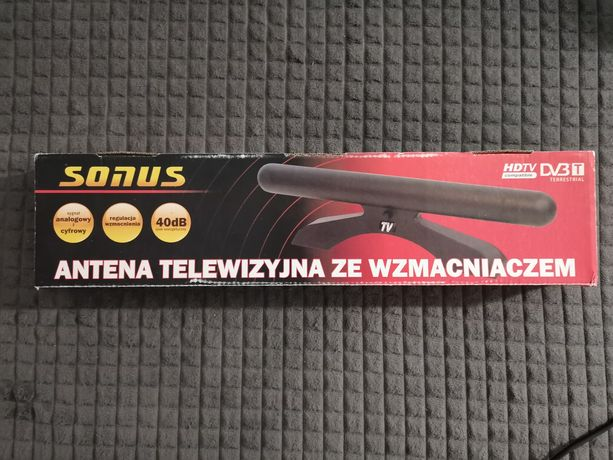 Antena pokojowa DVB-T j. nowa gwarancja.