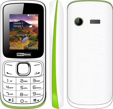 maxcom mm129 telefon dual sim latarka radio