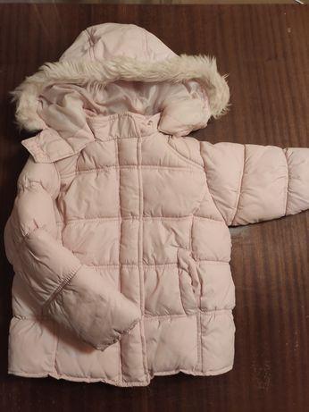Kurtka zimowa dla dziewczynki w wieku 3/4 latka