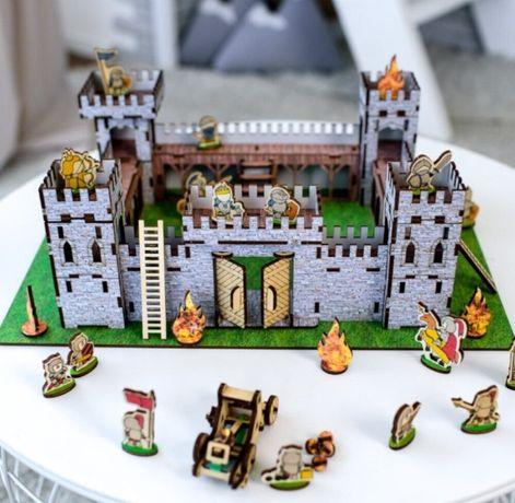 Супер-новинка Замок 3D конструктор Крепость игровой набор лего 3Д