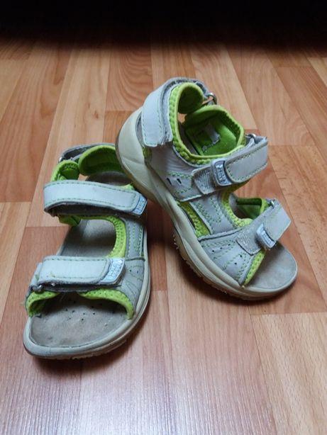 Кожаные спортивные сандалии 29р-р