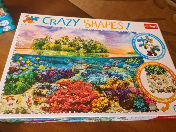 Puzzle crazy shapes 600 elementów