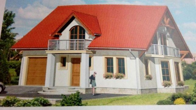 Projekt domku 125m odstąpię