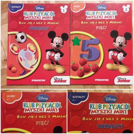 Książki z serii Klub Przyjaciół Myszki Miki