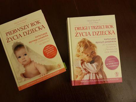 Heidi Murkoff Pierwszy rok życia i Drugi i trzeci rok życia dziecka