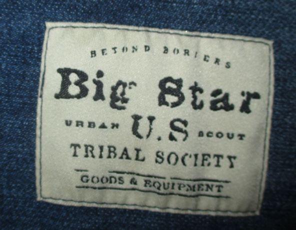 torba zakupowa BIG STAR duża jeans EXTRA