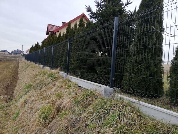 ogrodzenia panelowe systemowe siatkowe bloczki joniec furtki bramy