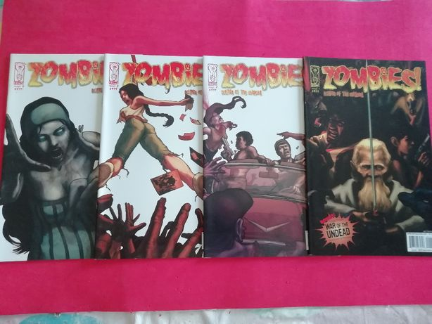 Zombies! eclipse of the undead #1 - 4 2006 completo IDW comics