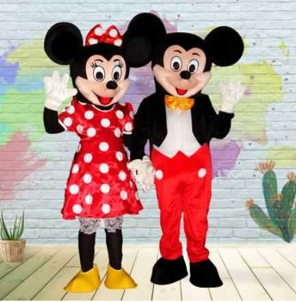 Mascotes Novas Mickey / Mini e Outras