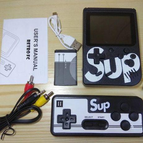 Игровая приставка / 400 игр с денди / консоль Sup game box / джойстик
