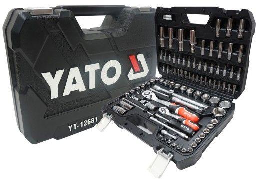 Набор инструментов для ремонта авто Yato 94 пр. YT-12681 Оригинал!