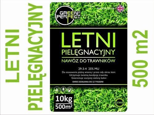 Nawóz do trawników LETNI z mikroelementami 10 kg/500m2 Green Perfect™