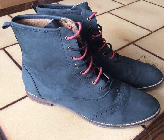 Ботинки кожаные 39 размер