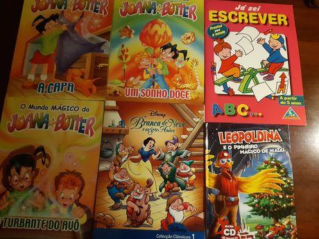 Livros Infantis como novos