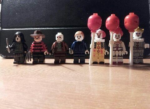 LEGO Horror figurki Jason Freddy Kruger