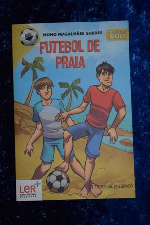 """Livro """"Futebol de Praia"""", coleção Objetivo Golo, NOVO"""