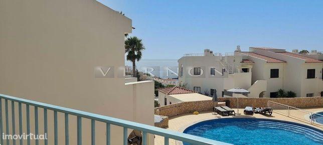 Algarve Carvoeiro, para venda, apartamento renovado e com vista mar,