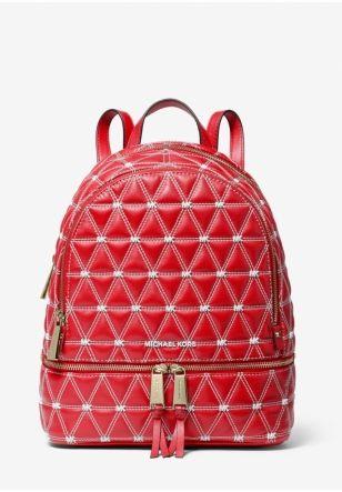 новый Рюкзак MICHAEL Michael Kors Rhea Medium Quilted Leather Backpack