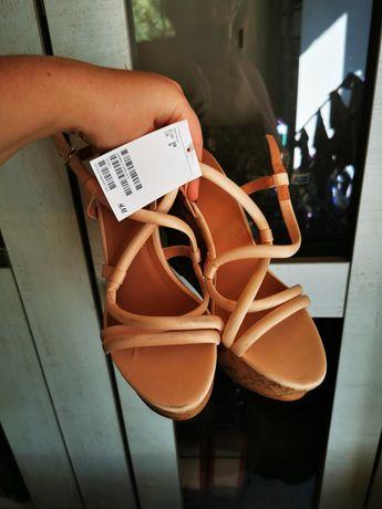 Sandały h&m nowe