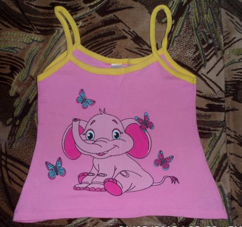 Одежда на девочку (майка, шорты, футболки, пижама,летняя панама)