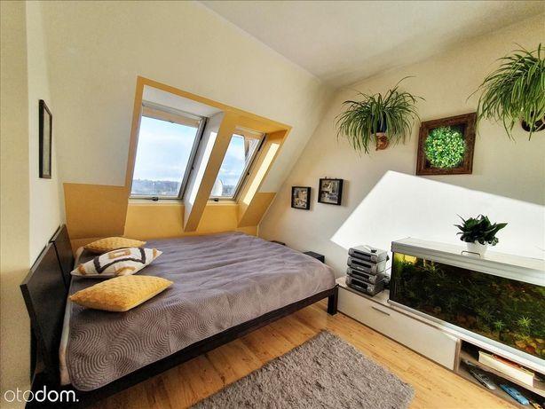 Atrakcyjne dwupoziomowe mieszkanie w centrum