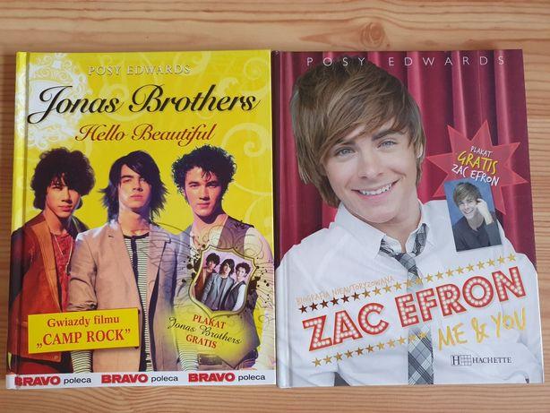 Książki Jonas Brothers i Zac Efron