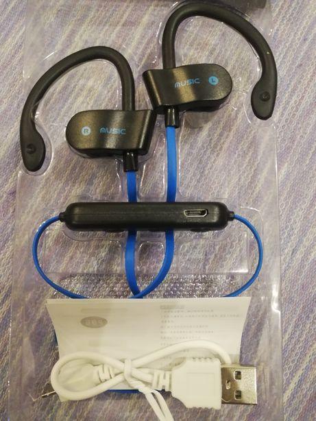 słuchawki bluetooth bezprzewodowe sportowe NOWE