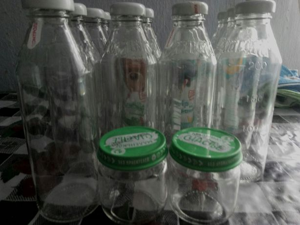 Баночки от детского питания, баночки, бутылки