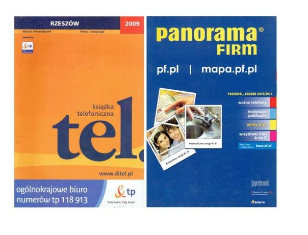 Książka telefoniczna Rzeszów 2009 + panorama firm
