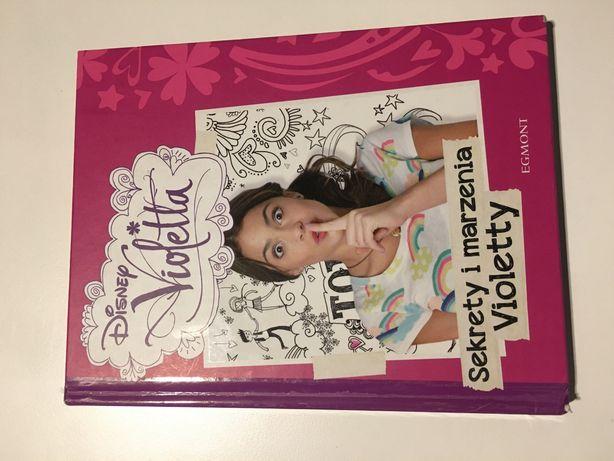 """Książka """"Sekrety i marzenia Violetty"""""""