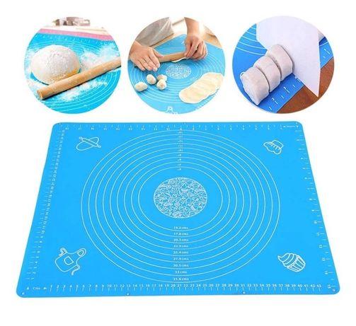 Силиконовый коврик для раскатки теста 40х30 см