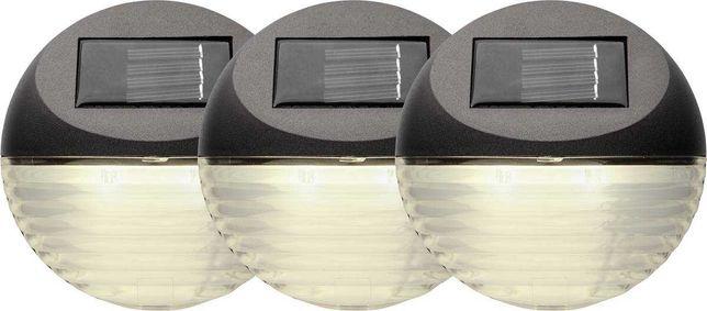 Kinkiet solarny LED zestaw 3 szt