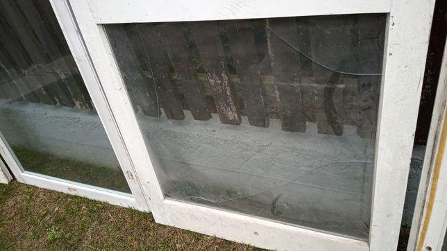 Drzwi balkonowe do szklarni