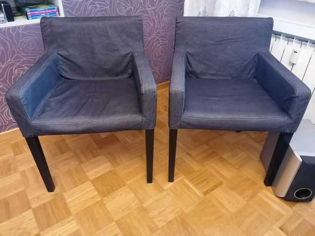 Krzesła fotele Ikea nils