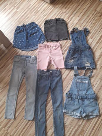 Spodnie spódniczki jeans