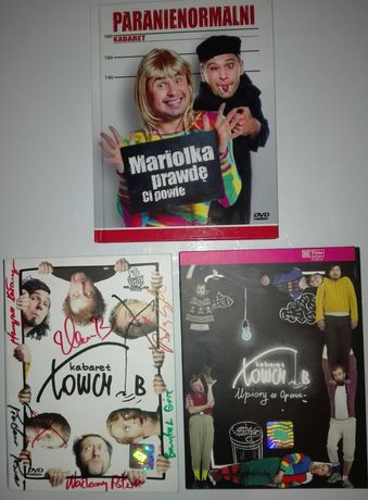 Kabatety na DVD Paranienormalni-Mariolka + Łowcy.B