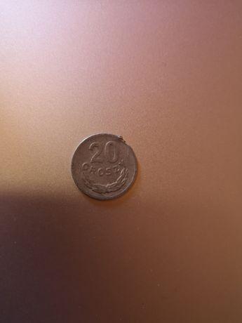 Moneta 20 gr 1969 destrukt